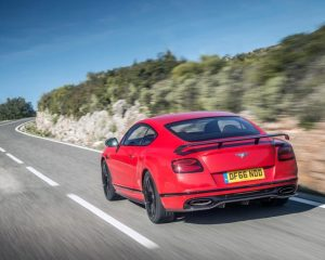 2018 Bentley Continental Supersports Rear View