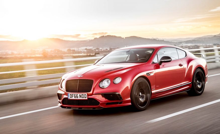 2018 Bentley Continental Supersports Front