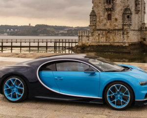 2017 Bugatti Chiron Side View