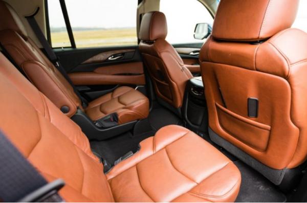 2017 Cadillac Escalade second row seats review