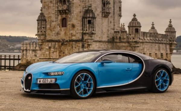 2017 Bugatti Chiron side