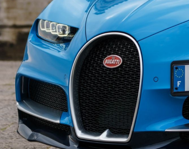 2017 Bugatti Chiron grille