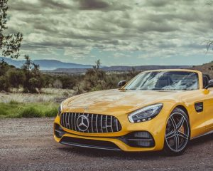 2018 Mercedes AMG GT C Roadster Front View