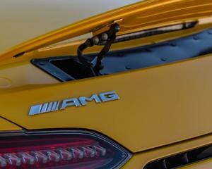 2018 Mercedes AMG GT C Rear