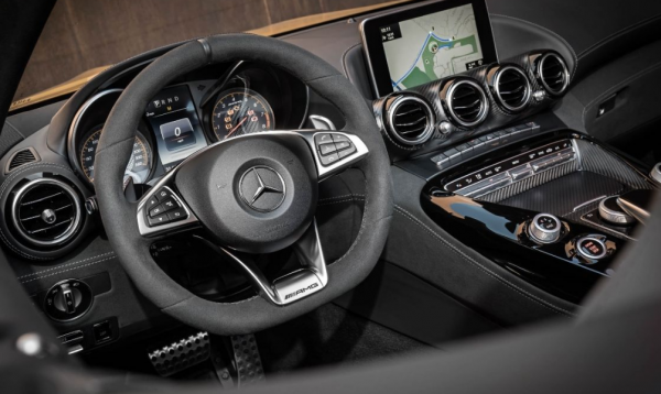 2018 Mercedes AMG GT C Steering Wheel Review