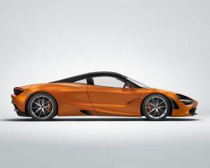 2018 McLaren 720S Side View