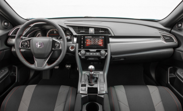 2017 Honda Civic Si Dashboard review steering