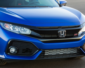 2017 Honda Civic Si Grille View