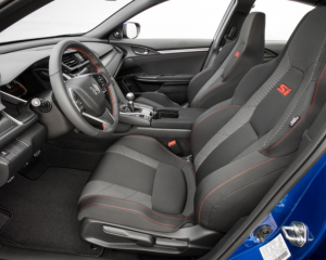 2017 Honda Civic Si Interior Seats View