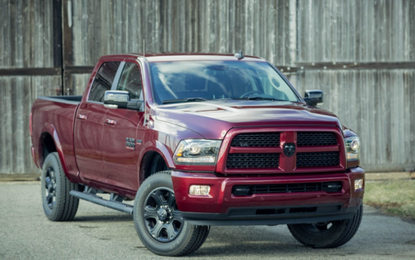 2017 Ram 2500 HD front review