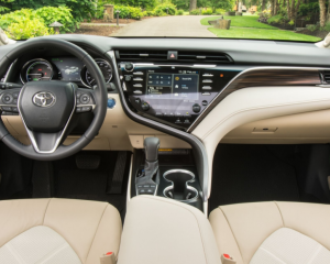 2018 Toyota Camry Dashboard View