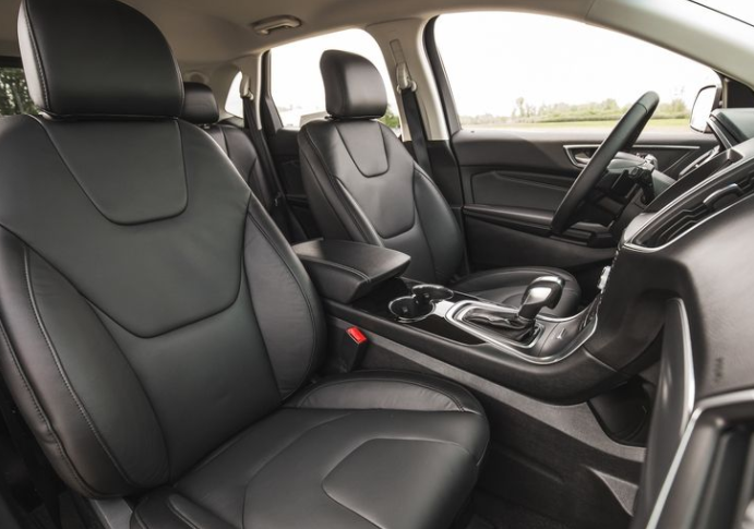 2017 Ford Edge Interior Seats View