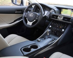2017 Lexus IS Interior View