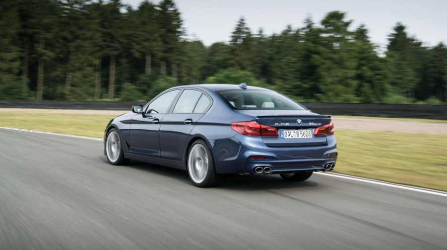 2018 BMW Alpina B5 Biturbo rear review