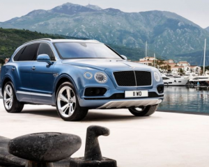2018 Bentley Bentayga Front View