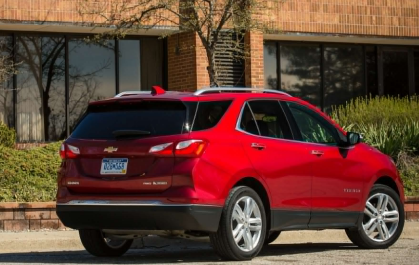 2018 Chevrolet Equinox Rear View