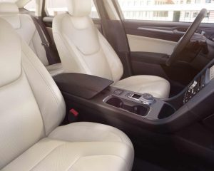 2018 Ford Fusion Front Seats View