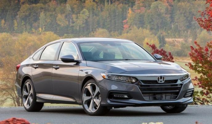2018 Honda Accord Front View