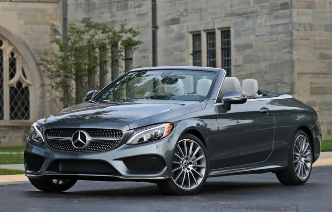 2018 Mercedes Benz Cabriolet Front View