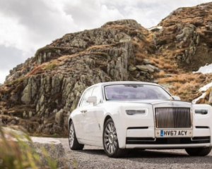 2018 Rolls Royce Phantom VIII Front View