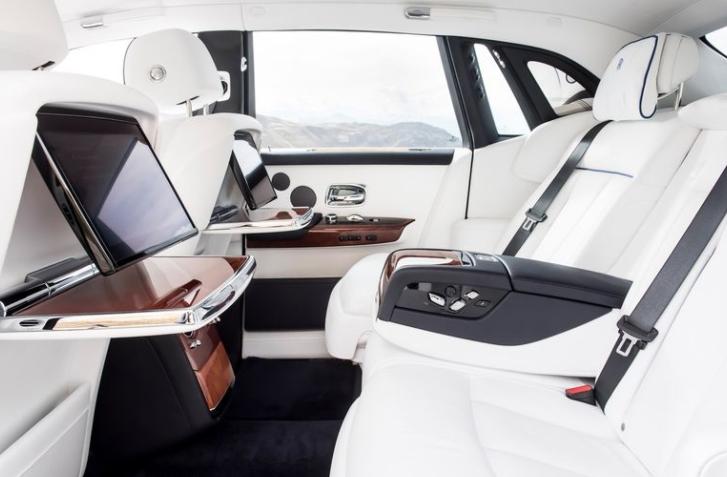 2018 Rolls Royce Phantom VIII Seats View