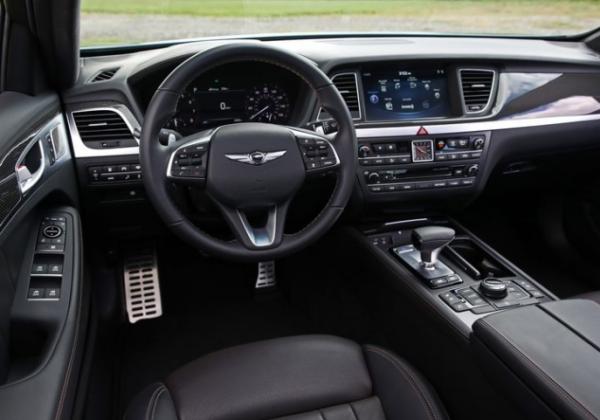 2018 Genesis G80 steering review