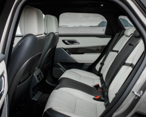 2018 Ranger Rover Velar Rear Seats View