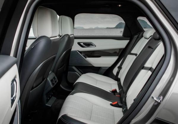 2018 Range Rover Velar rear seats review
