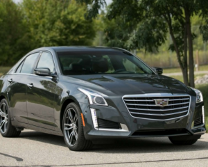 2018 Cadillac CTS Front View