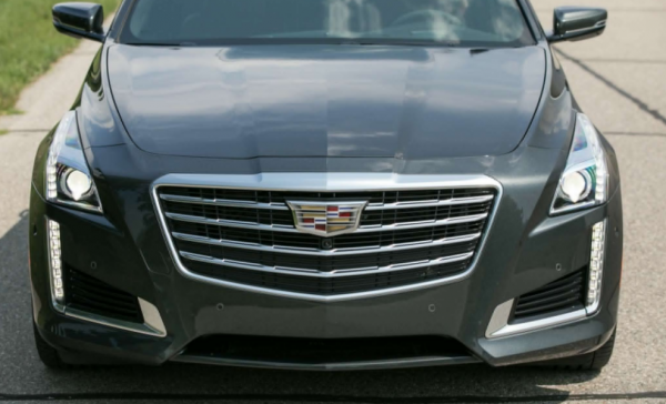 2018 Cadillac CTS grille review