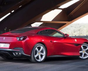 2018 Ferrari Portofino Side View