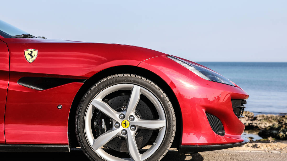 2018 Ferrari Portofino Wheels View