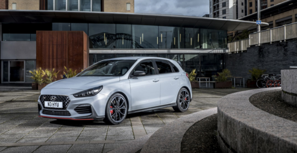 2018 Hyundai i30 N front review