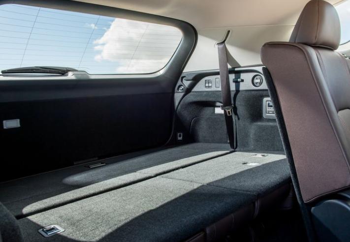2018 Lexus RX350L cargo review