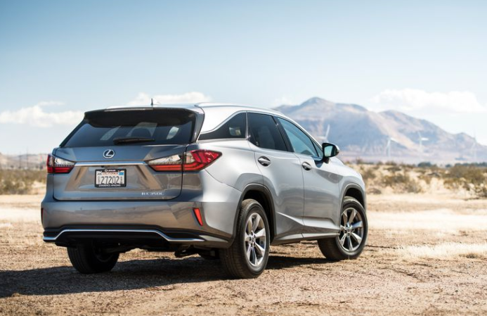 2018 Lexus RX350L Rear Side View