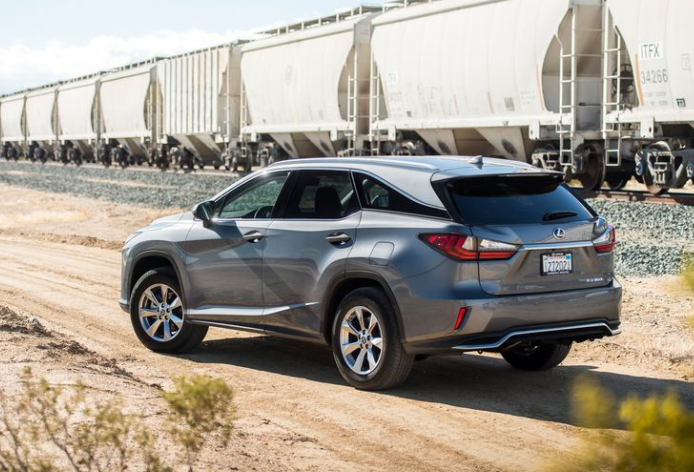 2018 Lexus RX350L Rear View
