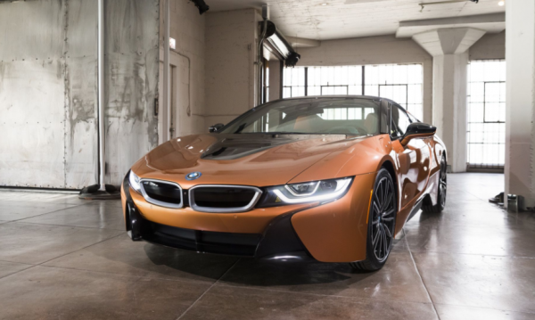 2019 BMW i8 exterior review
