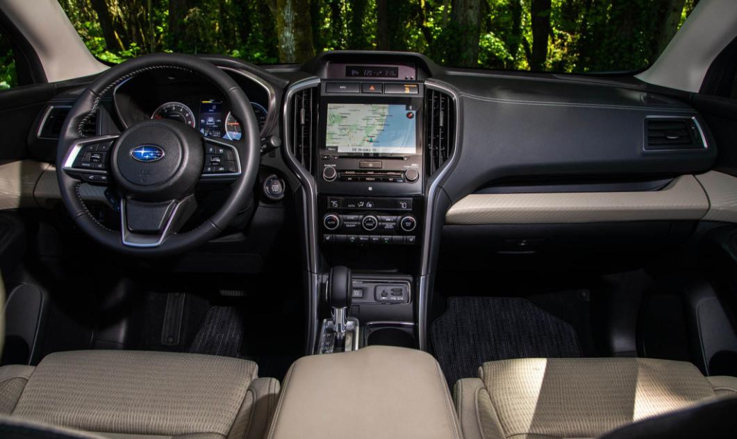 2019 Subaru Ascent dashboard review