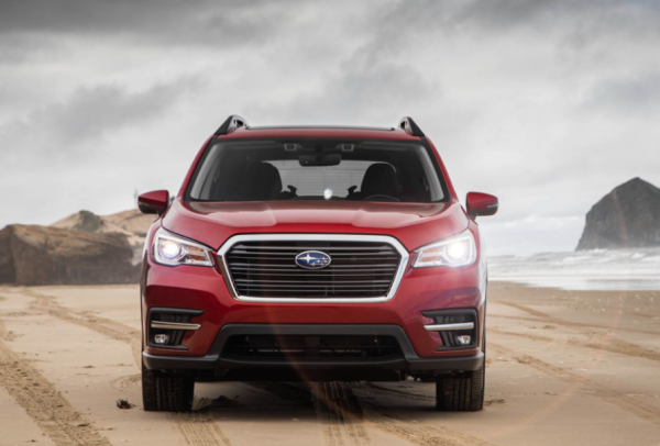 2019 Subaru Ascent front grille review