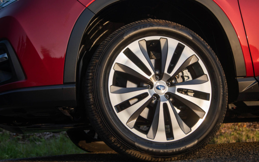2019 Subaru Ascent wheel review