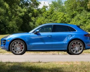 2018 Porsche Macan Turbo side review