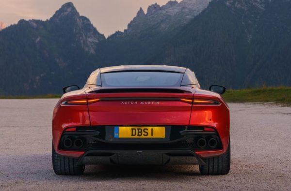 2019 Aston Martin DBS review rear