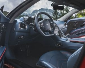 2019 Aston Martin DBS review dashboard steering wheel
