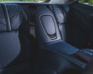 2019 Aston Martin DBS review rear seats