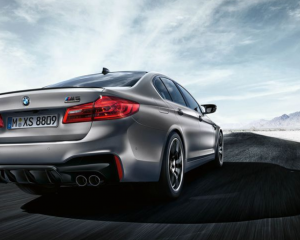 BMW M5 2019 Rear review
