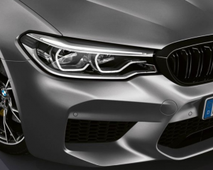 BMW M5 2019 headlights review
