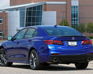 2019 Acura TLX back review