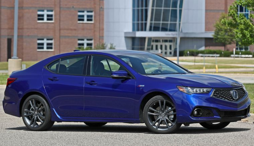 2019 Acura TLX side review