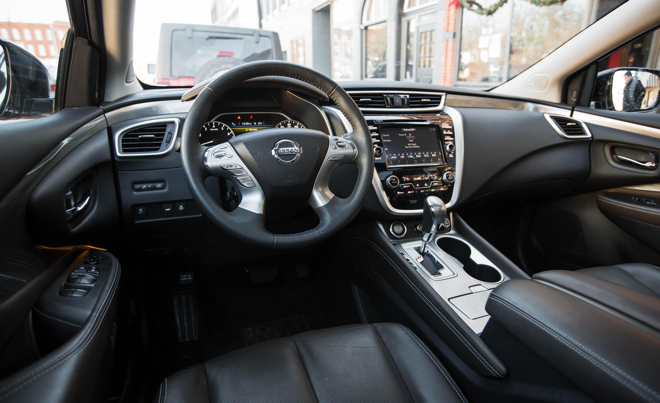 2017 Nissan Murano Platinum Awd Interior Front