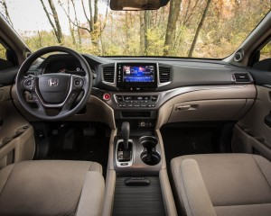 2016 Honda Pilot Ex Fwd Interior